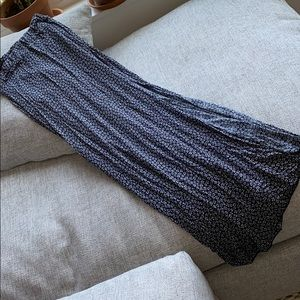 Brandy Melville Maxi Floral Skirt with Slit
